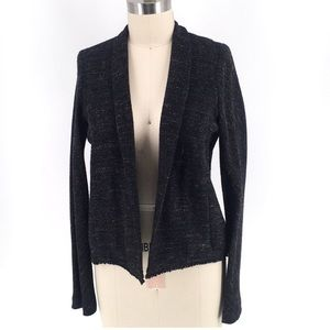 Eileen Fisher Open Front Black Jacket
